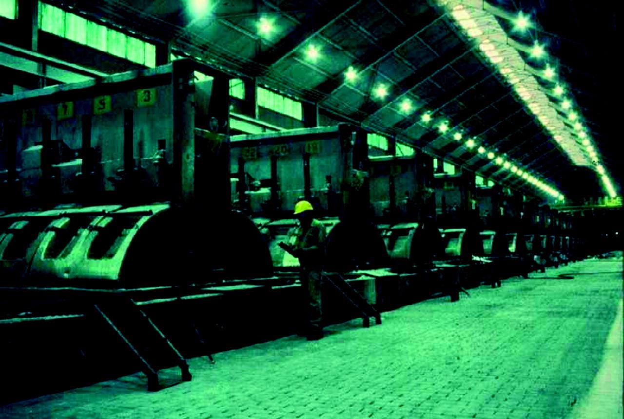 World at work: Hazards and controls in aluminium potrooms