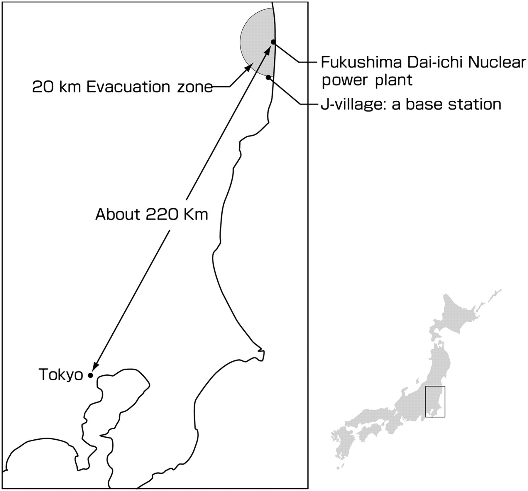 Emergency response technical work at Fukushima Dai-ichi