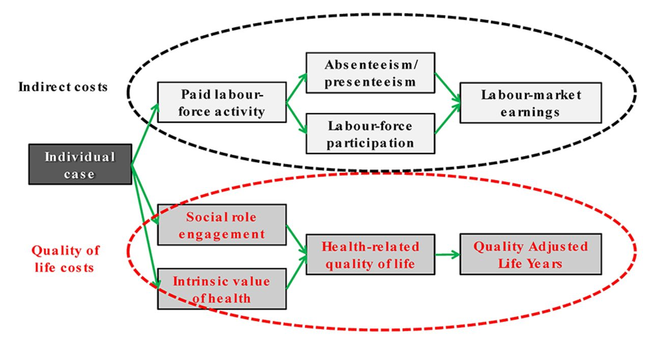 The economic burden of lung cancer and mesothelioma due to