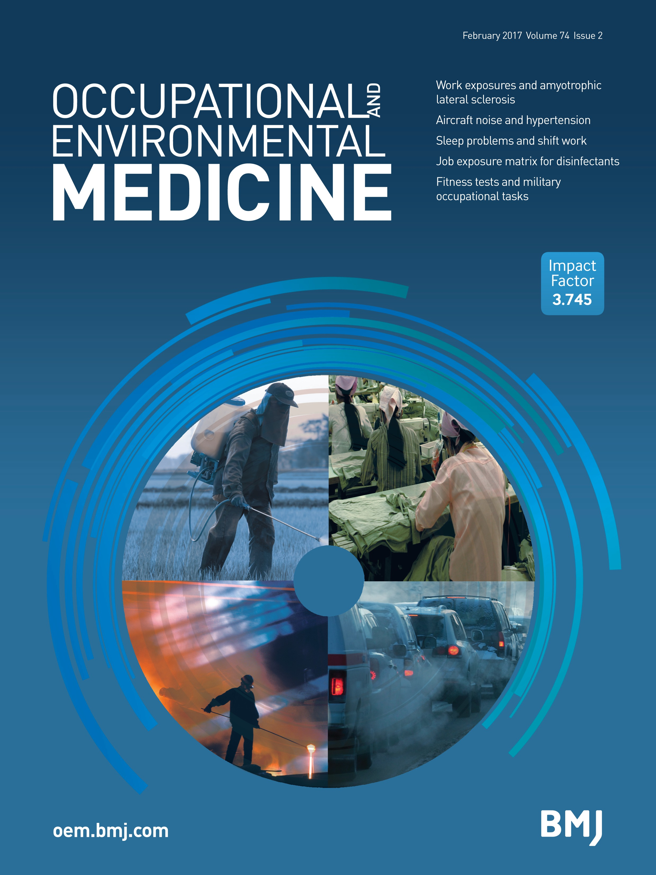 Occupational exposures and the risk of amyotrophic lateral
