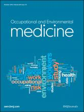 Occupational and Environmental Medicine: 69 (10)