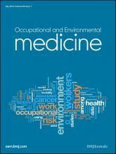 Occupational and Environmental Medicine: 69 (7)