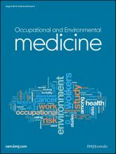 Occupational and Environmental Medicine: 69 (8)