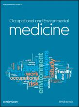 Occupational and Environmental Medicine: 70 (4)