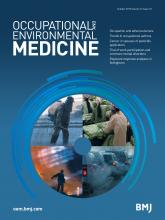 Occupational and Environmental Medicine: 72 (10)