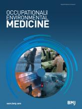 Occupational and Environmental Medicine: 72 (5)