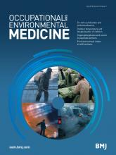 Occupational and Environmental Medicine: 72 (7)