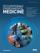 Occupational and Environmental Medicine: 72 (8)