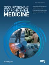Occupational and Environmental Medicine: 73 (1)