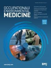 Occupational and Environmental Medicine: 73 (11)