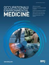 Occupational and Environmental Medicine: 73 (6)
