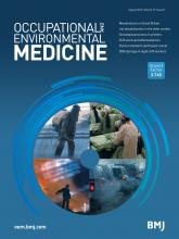 Occupational and Environmental Medicine: 73 (8)