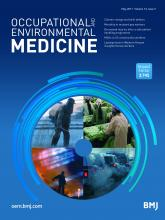 Occupational and Environmental Medicine: 74 (5)