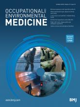 Occupational and Environmental Medicine: 75 (10)
