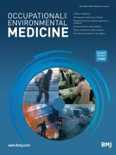 Occupational and Environmental Medicine: 75 (12)