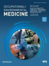 Occupational and Environmental Medicine: 75 (Suppl 1)