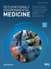 Occupational and Environmental Medicine: 76 (6)