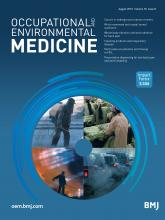 Occupational and Environmental Medicine: 76 (8)