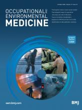 Occupational and Environmental Medicine: 77 (10)