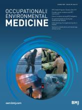 Occupational and Environmental Medicine: 78 (10)