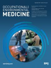 Occupational and Environmental Medicine: 78 (9)